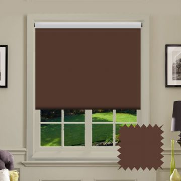 Blackout Coffee Roller Blind - Bermuda Cappuccino